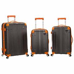 Rockland Sonic 3-pc. Hardside Luggage Set