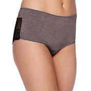 Ambrielle® Heather Lace Hipster Panties