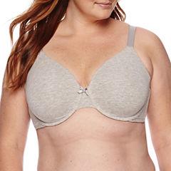 Ambrielle® Everyday Full-Figure Cotton Full-Coverage Bra