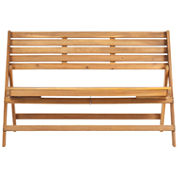Thelma Outdoor Folding Bench