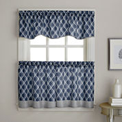Morocco Rod-Pocket Kitchen Curtains