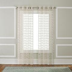 Renaissance Home Fashion Amelia Grommet-Top Curtain Panel