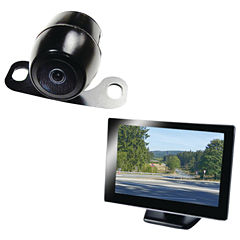 BOYO Vision VTC175M 5IN Rearview Monitor with License-Plate Camera