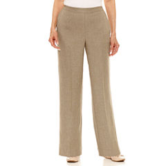 Alfred Dunner Botanical Garden Woven Pull-On Pants-Petites