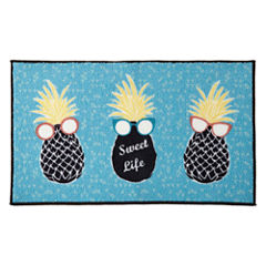 Home Expressions™ Sweet Life Rectangular Rug