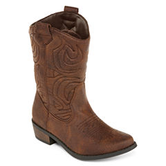 Arizona Vivienne Girls Mid-Top Cowboy Boots - Little Kids