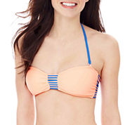 Arizona Strappy Bandeau Bra Swim Top - Juniors