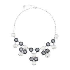 Monet® 1820 Drama Silver Necklace