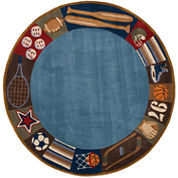 Momeni Lil Mo All Star Hand Tufted Round Rugs