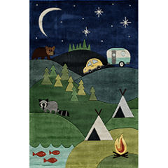 Momeni Lil Mo Camp Hand Tufted Rectangular Rugs