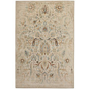 American Rug Craftsmen Serenity Sentiment Distressed Rectangular Rug