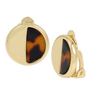 Worthington® Disc Clip-On Earrings