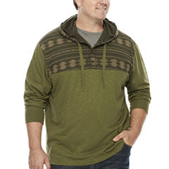 The Foundry Supply Co.™ Long-Sleeve Pullover Cotton Hoodie - Big & Tall
