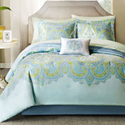 Madison Park Carly Complete Bedding Set with Sheets
