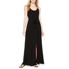Soho Sleeveless Embellished Maxi Dress