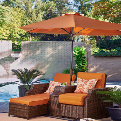 Relax A Lounger Santa Cruz Patio Lounge Chair