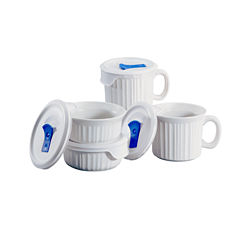 CorningWare® French White® 8-pc. Pop-In Mug Set