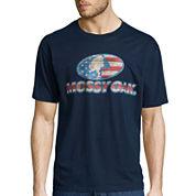 Mossy Oak® Short-Sleeve Wood Flag Logo Tee