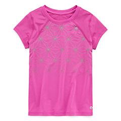 Xersion Short Sleeve T-Shirt-Preschool Girls