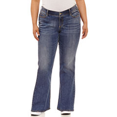 Arizona Bootcut Jeans - Juniors Plus