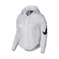 Nike Hooded Cropped Jacket