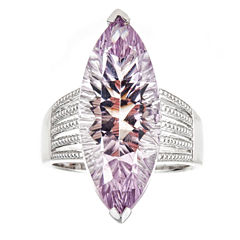 LIMITED QUANTITIES Pink Amethyst Sterling Silver Ring