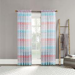 Vernell Rod-Pocket Curtain Panel