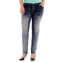 Ariya™ Curvy-Fit Skinny Jeans - Juniors Plus