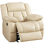 St. Laurence Faux-Leather Recliner