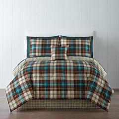 Home Expressions™ Decklan Plaid Comforter & Sheet Set