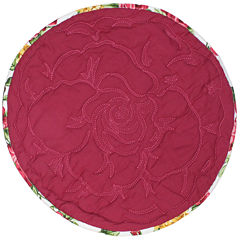 Homewear Rose Kiss Set of 4 Round Placemats