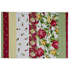 Homewear Rose Kiss Set of 4 Striped Placemats