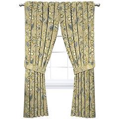 Brighton Blossom Rod Pocket Window Panel