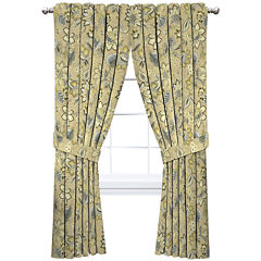Waverly Brown Curtains Drapes For Window Jcpenney