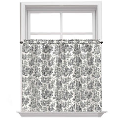 Charmed Life Rod-Pocket Window Tiers