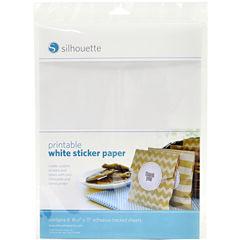 Silhouette Printable Adhesive Sheets