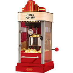 Nostalgia HKP200 Hollywood Series 2.5-Ounce KettlePopcorn Popper with Personalized Lighted Marquee