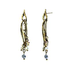 Aris by Treska Gold-Tone Drop Earrings