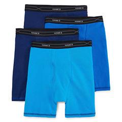 Hanes® 3-pk. X-Temp® Comfort Cool™ Boxer Briefs + Bonus Pair