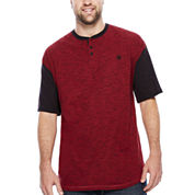 Zoo York® Short-Sleeve Quill Henley Tee - Big & Tall