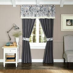 Croscill Classics® Sandy Cove 2-pk. Rod-Pocket Curtain Panels