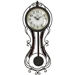 FirsTime® Fleur De Lis Wall Clock