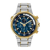 Citizen® Eco-Drive® Endeavor Mens Two-Tone Chronograph Watch CA0444-50L