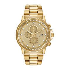 Citizen® Eco-Drive® Nighthawk Mens Gold-Tone Chronograph Watch FB3002-53P