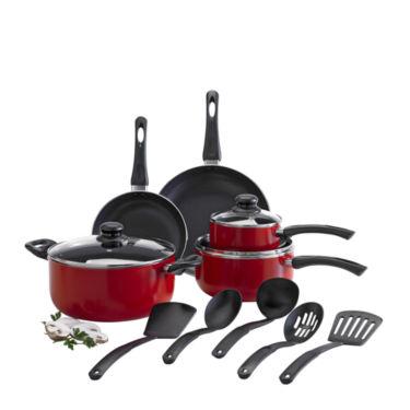 Cooks 13-pc. Aluminum Nonstick Cookware Set