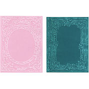 Sizzix® Texture Fades Embossing Folders by Tim Holtz® 2-pk. Book Cover