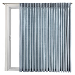 Royal Velvet® Supreme Pinch-Pleat/Back-Tab Thermal Patio Door Panel