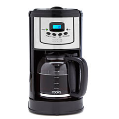 Cooks 12-Cup XL Programmable Coffee Maker