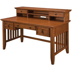 Pan-American Executive Desk and Hutch