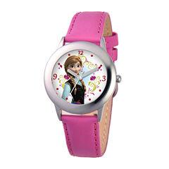 Disney Frozen Anna Strap Pink Strap Watch